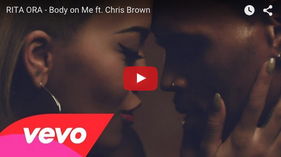 "Rita Ora and Chris Brown get really sexy in new video ""Body on Me"""