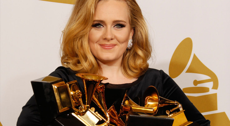 Adele reveals new song?