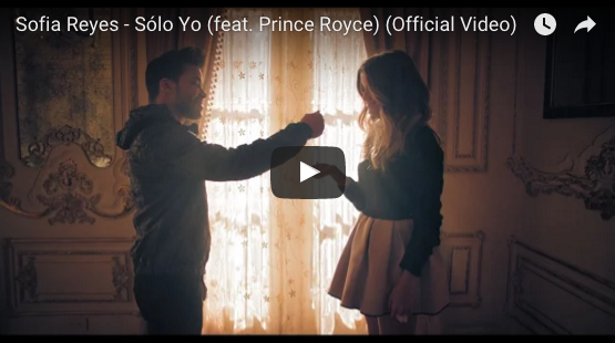 Sofia Reyes and Prince Royce in Romantic Video