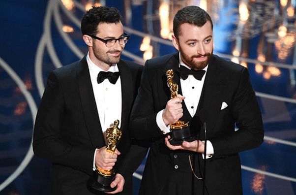 Sam Smith Creates Controversy at the Oscars