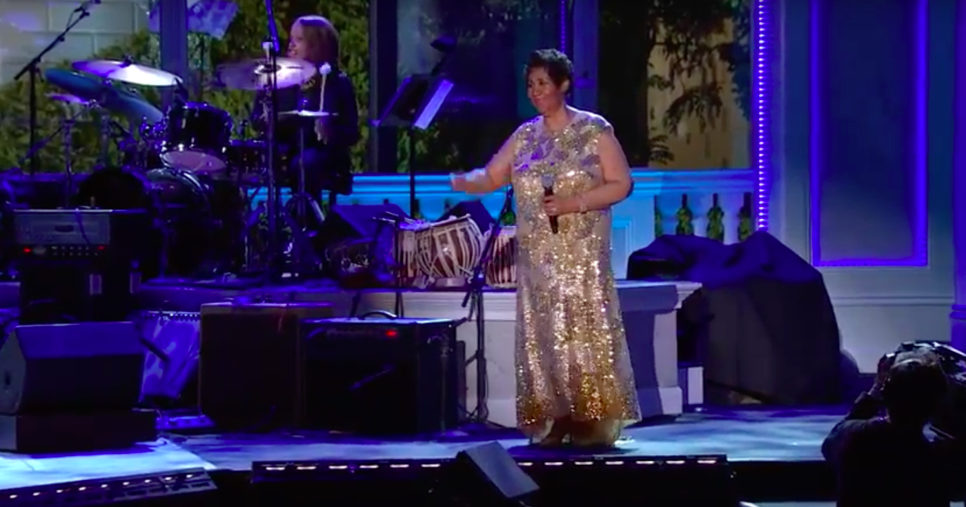 Watch Aretha Franklin Pay Tribute to Prince