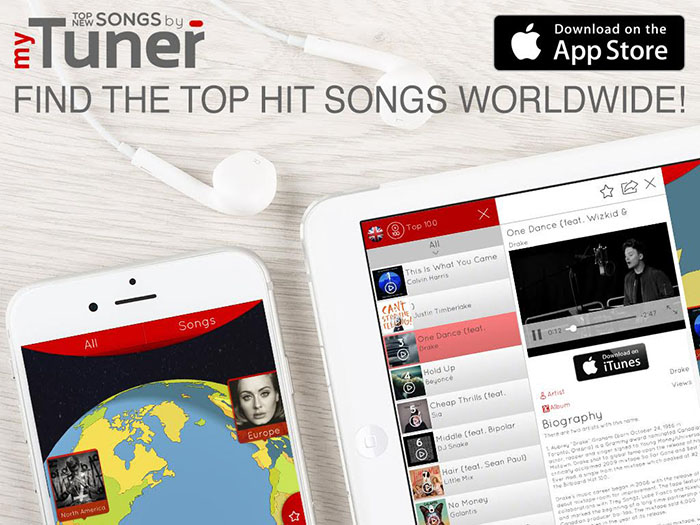 Top New Songs by myTuner - Discover the Hits