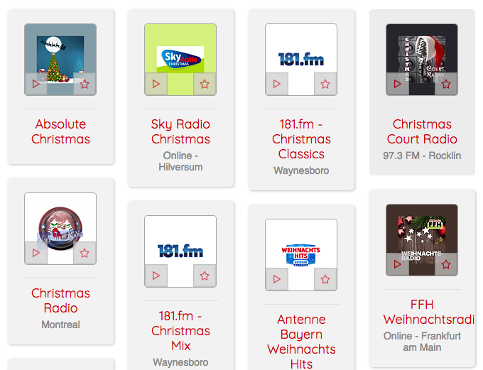 The 10 Best Christmas Radio Stations